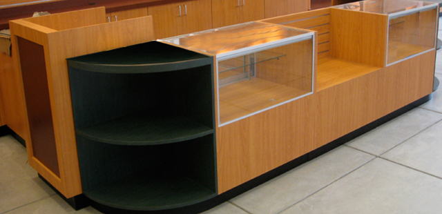 Deluxe Glass Display Showcases, Standard Wood Side Showcases and Tecno Display Cases. Wide Variety & Excellent Quality from Creative Store Solutions.